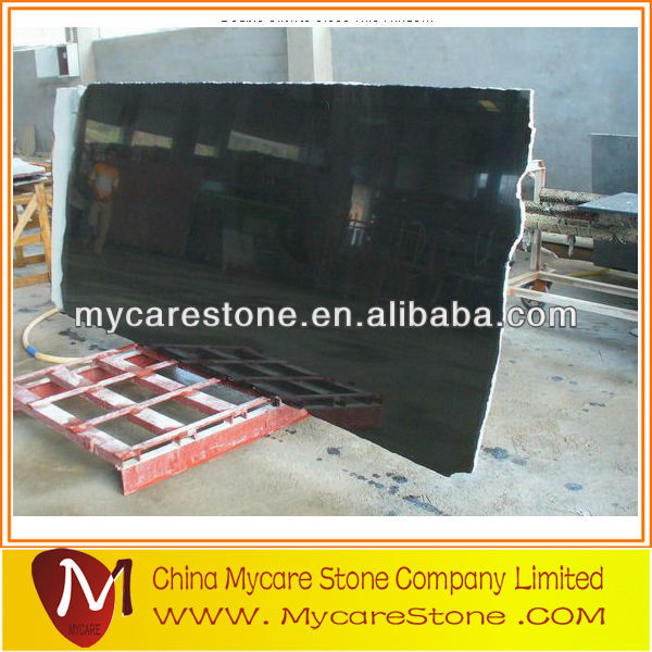 Polished/Flamed absolute black granite slabs/tiles/cubes
