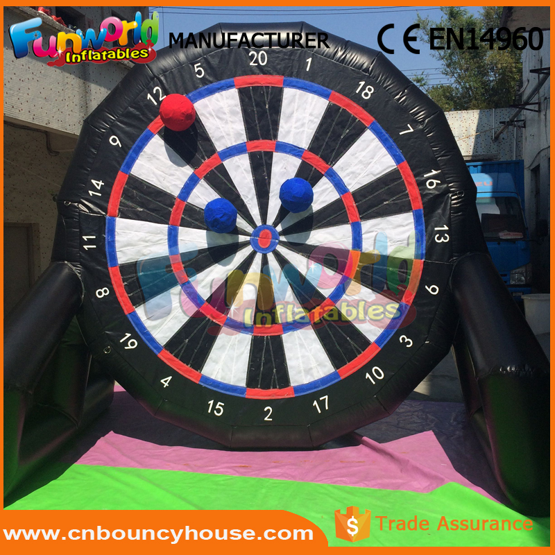 Hot sale inflatable dart sport gam air soccer game buy darts