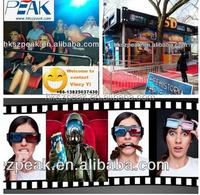 Amusement park rides 5D cinema theater movie 5d mobile theatre indoor games
