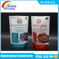 Food Grade Laminated Stand Up Pouch for Instant Food Packaging
