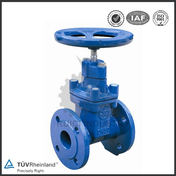 OEM DIN Standard soft wedge cast iron gate valve