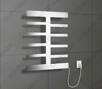 SHARNDY Electric Towel Heater, New Design Electric Towel Warmer Rack, Stainless Steel Heated Towel Rail