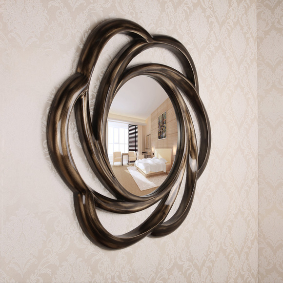 Elegant Makeup Mirror Flower Shaped Wall Mirrors Decorative Designer Product On Alibaba
