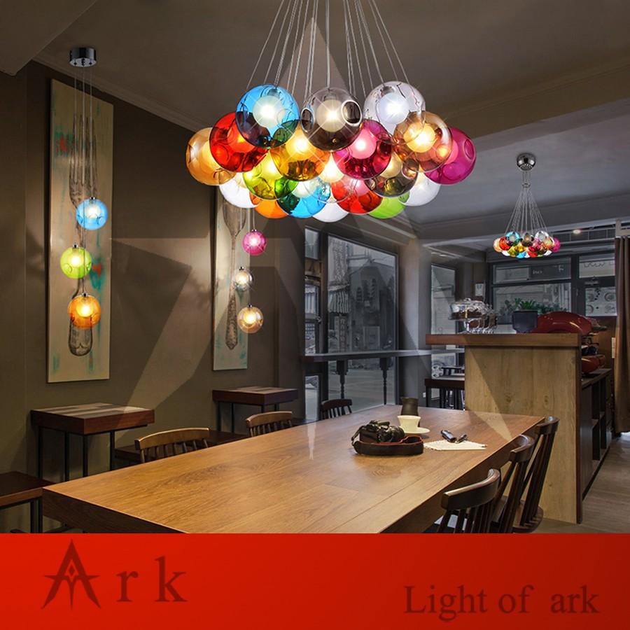 Ark Light Loft American Old Furniture Nostalgic Vintage Bubble Ball