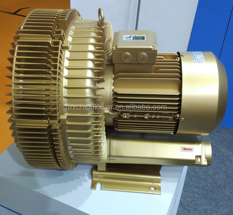 5.5kw 7HP Good quality regenerative ring blower for Medical Equipment