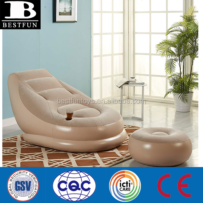 Heavy Duty Flocked Inflatable Air Chair Plastic Foldable Reclining Louge Chair Gaming Chair - Buy Inflatable Reclining ChairInflatable Lounge Chair ...  sc 1 st  Alibaba : plastic recliner - islam-shia.org