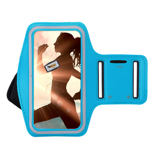 5.5 inch Mobile Phones Running Fabric Reflective Sport Armband for Iphone 6 7