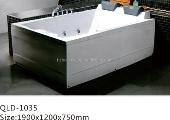 Vasca Da Bagno 2 Persone : Freestanding vasca da bagno abs due persone bolla getti