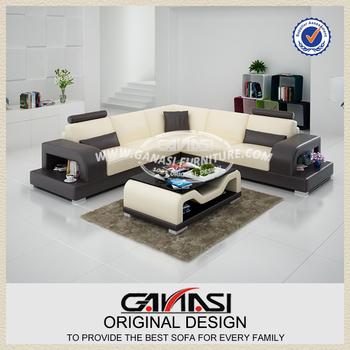 Cheap Germany Living Room White Leather Sofa, Sm Furniture Sofa Living Room