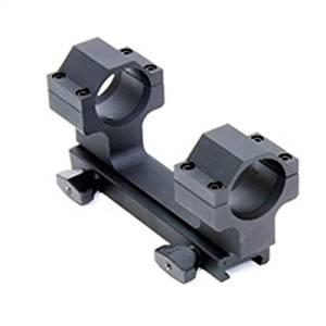 ProMag AR-15/M16 Flat Top Dual Ring Aluminum Scope Mount, Black, 30mm