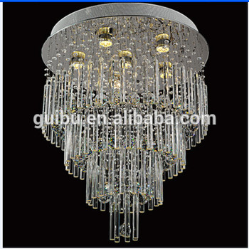 modern E14 crystal ceiling light decorative crystal ceiling lamp