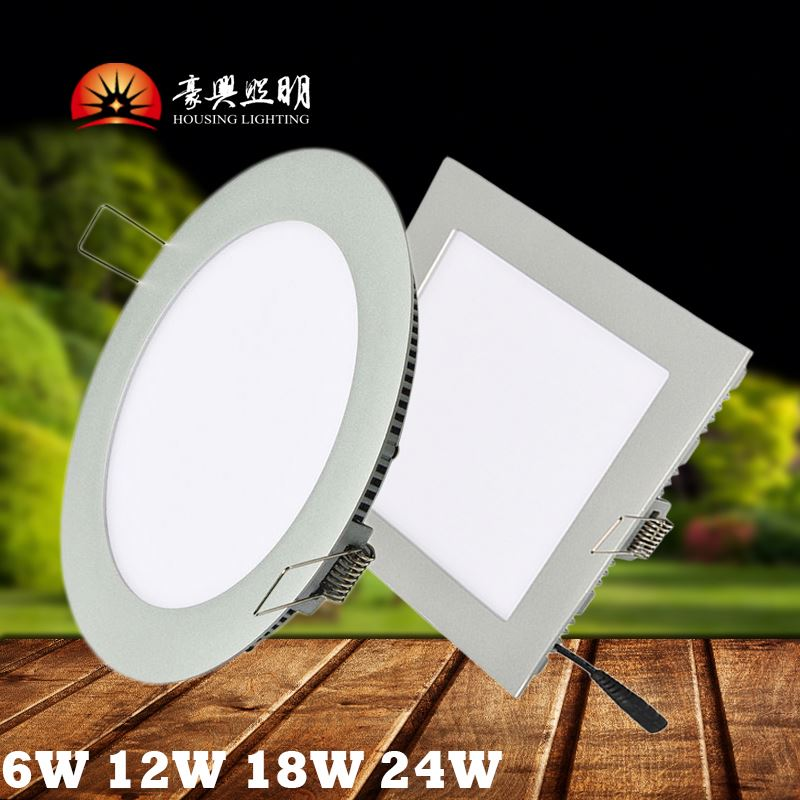 Easy To Install TUV Approved 4' 9W 6' 12W Recessed LED Panel Light Down Light LED Pot Light UL