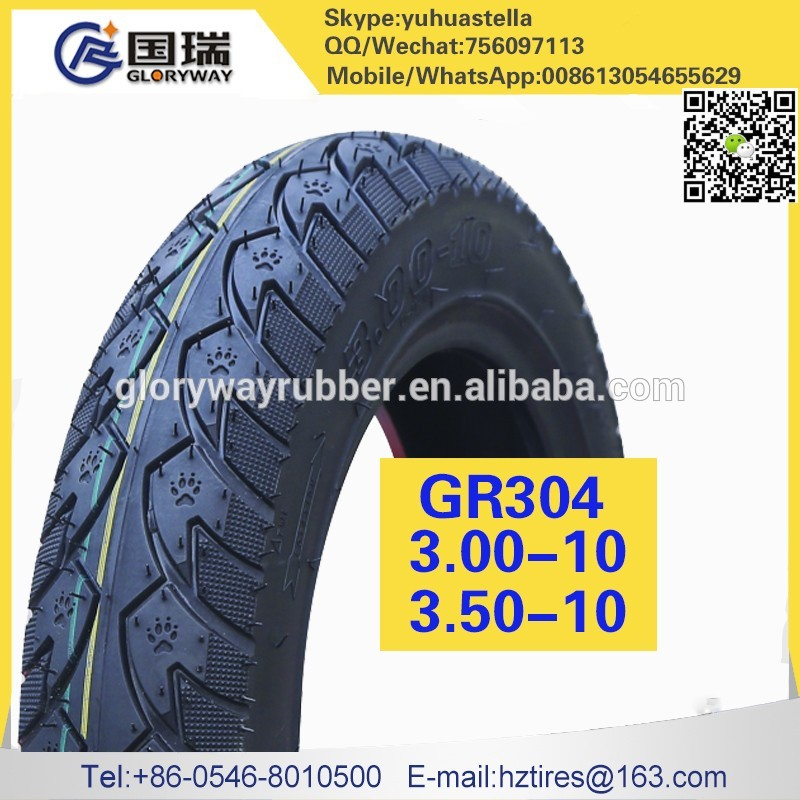 motorcycle parts tire made in China 3.50-10
