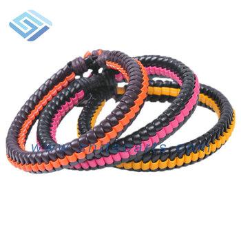 Wlbz036 Handmade Braided Cool Bracelets For Boys