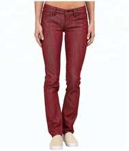 Royal wolf denim <span class=keywords><strong>jeans</strong></span> hersteller slubby stretdh denim klar waschen tiefrote low rise slim fit <span class=keywords><strong>frauen</strong></span> <span class=keywords><strong>jeans</strong></span>