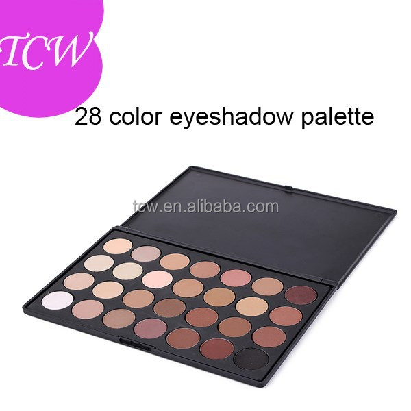 Eyeshadow 28 Piece Palette, Natural cosmetic