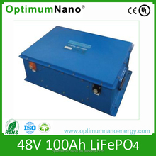 Charming design 48v 100ah lifepo4 fork lift battery with patent PCB pack