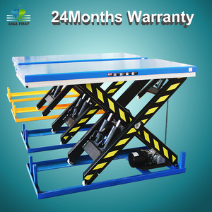 Electric Hydraulic Stationary Scissor Lift