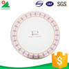 Wholesale Hot Selling pink paper plates and napkins
