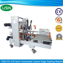 Used high quality automatic carton edge sealing machine