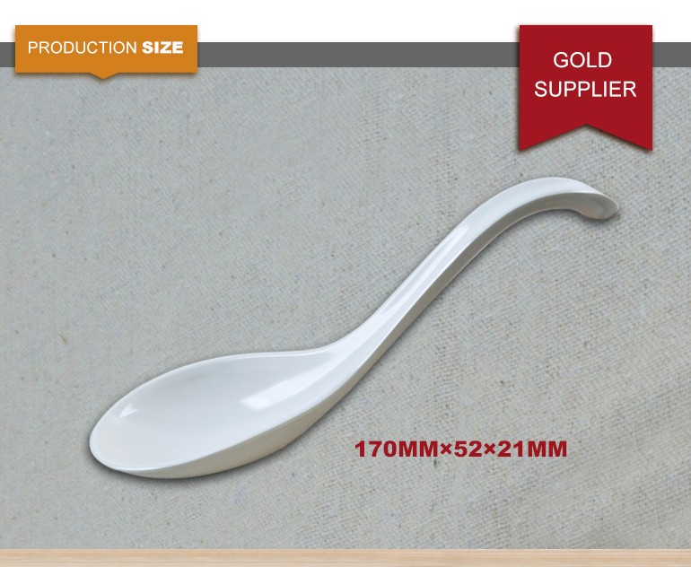 Chinese soup melamine serving top quality plastic set flatware