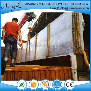 Free Cutting Clear 60mm Acrylic Sheets For Glass Cylinder