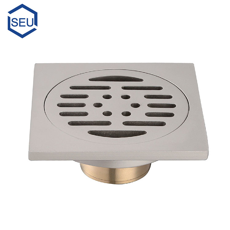 Toilet concealed/recessed shower drain
