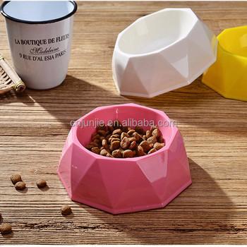 diamond-dog-bowl-plastic-pet-bowl
