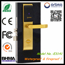 Hotel nfc electronic door lock card key key lock system