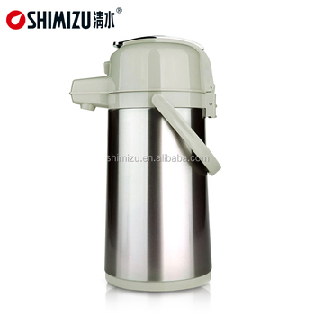 Household Air Pressure Pot With Pump Large Capacity Thermos Pot 3.0l ...