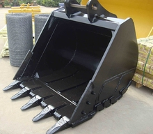 Shanghai SMB group good quality Doosan 225 excavator digging spare parts of rock bucket
