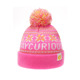 new born baby fashion pom poms sport winter beanies knitted hat with ball top