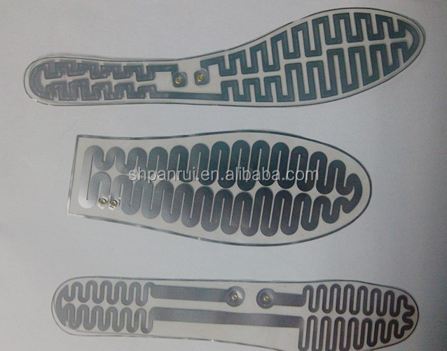Heating Element PET Heating Film Used in Shoes Pad