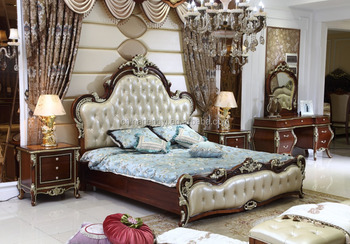 Classic Italian Provincial Bedroom Furniture Set