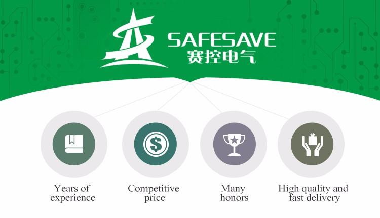 Safesave 2017 New Series Electric 220V 380V built-in bypass AC motor softstarter