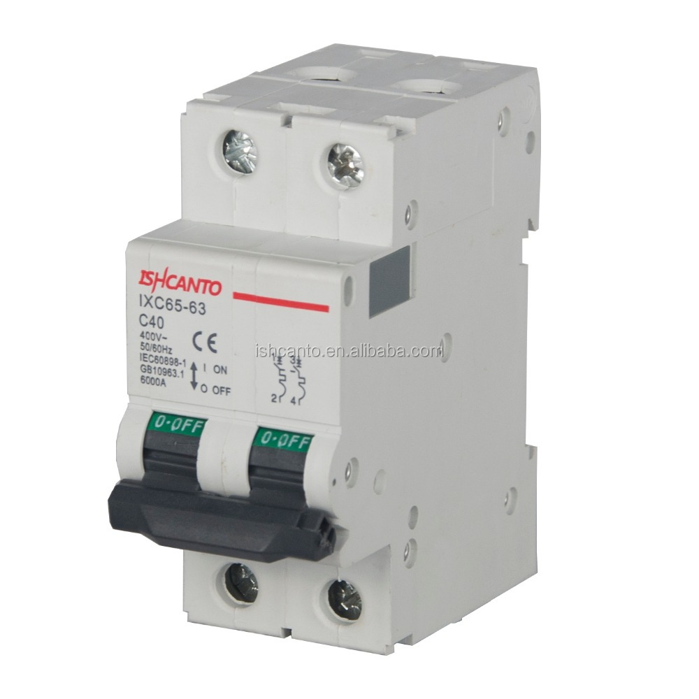 6ka 32 Amp Mcb Low Voltage House Use Circuit Breaker Thermal ...