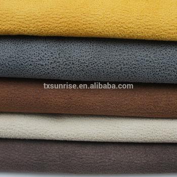 Embossed Suede Leather Like Sofa Fabric Price Per Meter - Buy ...