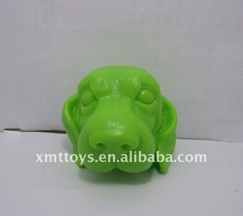 best resin or pvc meterial dog shape