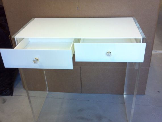 cheaper 9a34f 6baba Acrylic Vanity Personal Desk Dressing Table - Buy Acrylic Dressing  Table,Modern Dressing Table,Table With Drawer Product on Alibaba.com