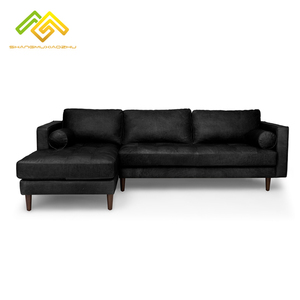 L Shaped Leather Sofa, L Shaped Leather Sofa Suppliers and ...