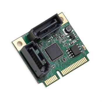 Mini PCI-E PCI Express to 2-Port SATA 3.0 III 6Gb/s Expansion Card