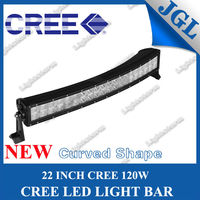 22 inch 120w curved spot light bar led truck underwater led lights 180 bar off road led light bar