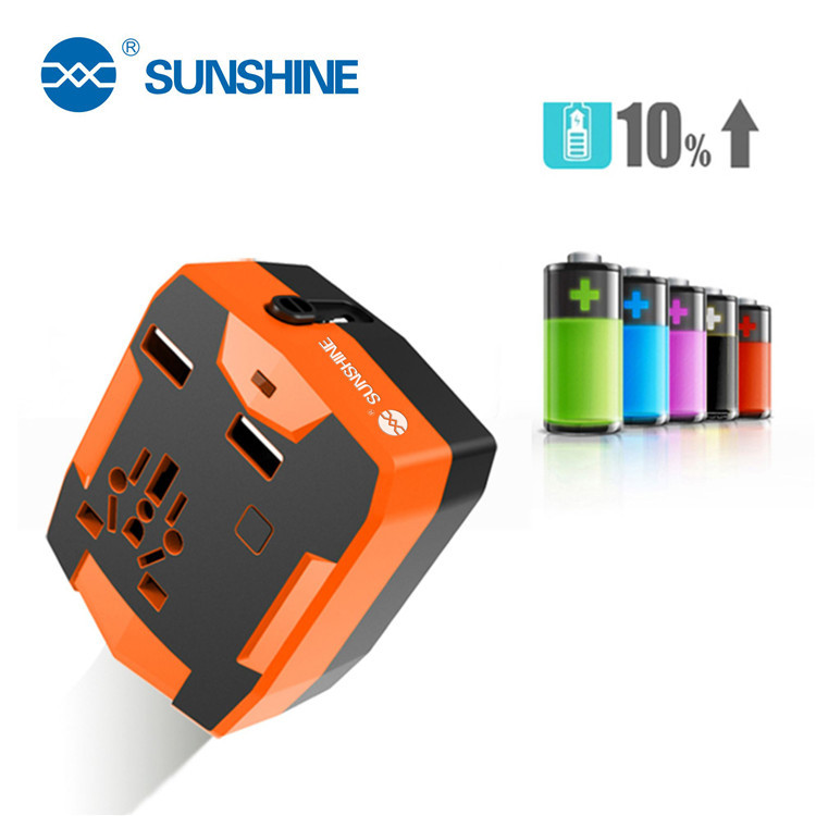 New Design 3 In 1 5V USB Charger Universal Travel Power <strong>Adapter</strong> With Power Bank