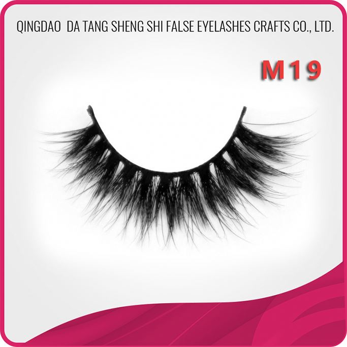 Golden supplier professional 100% horse hair strip lashes eyelash extension supplies