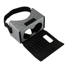 Magic and high technology virtual reality vr case cardboard 3D glasses
