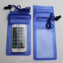 wholesale promotion white transparent waterproof case,Ip67 pvc mobile phone waterproof dry bag