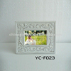 white wash picture frame / carving photo frame 13'x9'