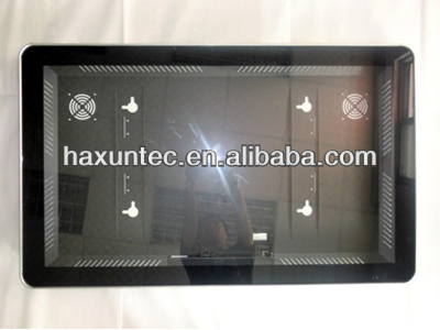 IR remote control wifi/3G Touch Advertising Player,55inch LCD Monitor wall display with Lan