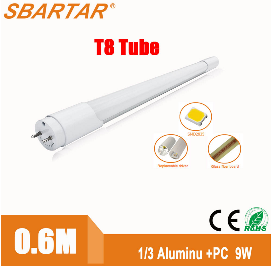Warm white 2400mm tubo 8 with tuv-ce