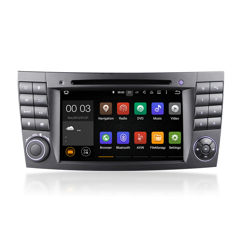 Nuovo 7 ''2din android5.1.1 quad-core RK 3188 special car DVD player per E/CLS/G Class W211/W219/W463/W209 DU7080